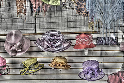 The Millinery Shop Photograph - At The Milliners by William Fields