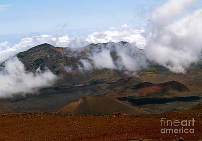 Photograph - At The Rim Of The Crater by Patricia Griffin Brett
