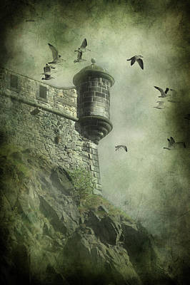 Eerie Mixed Media - At The Top by Svetlana Sewell