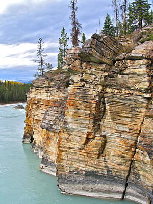 Art Print featuring the photograph Athabasca River by Brian Sereda