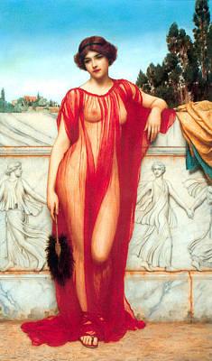 Athenais Art Print by Sumit Mehndiratta