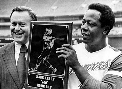 Baseball Uniform Photograph - Atlanta Braves President William by Everett