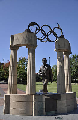 Photograph - Atlanta Olympic Park by Andrew Dinh