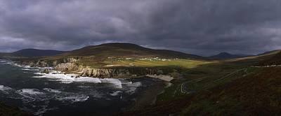 Atlantic Drive, Achill Island Co Mayo Art Print by The Irish Image Collection