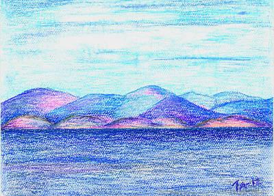 Atlantic Mountains 2 Art Print by Taruna Rettinger