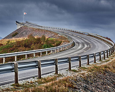 Atlantic Road Art Print by A A