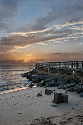 Photograph - Atlantic Sunrise by Cheryl Davis