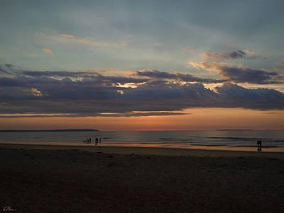 Photograph - Atlantic Sunrise by Nancy Griswold