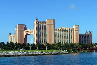 Photograph - Atlantis Resort On Paradise Island by Carla Parris
