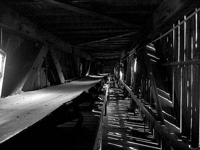 Art Print featuring the photograph Atlas Coal Mine2 by Brian Sereda