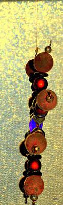 Photograph - Atom Beads by Diane montana Jansson
