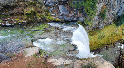 Medford Photograph - Atop Tumalo Falls by Twenty Two North Photography