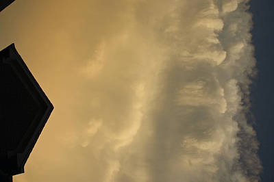 The Beach House - Attack of the Clouds by LeeAnn McLaneGoetz McLaneGoetzStudioLLCcom