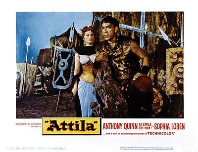 Dio Photograph - Attila, Aka Attila, Il Flagello Di Dio by Everett