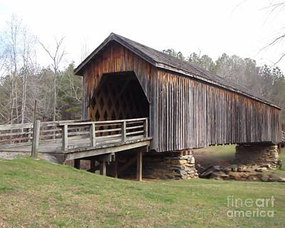 Auchumpkee Creek Bridge Art Print