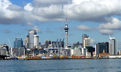 Photograph - Auckland Skyline by Carla Parris