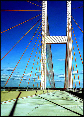 Photograph - Audubon Bridge by Judi Bagwell