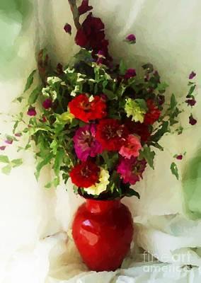 August Bouquet 2008 Art Print