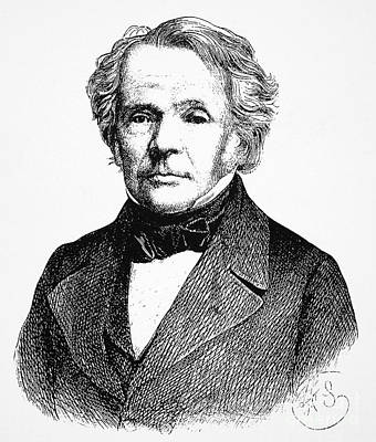 August Ferdinand Moebius Print by Granger