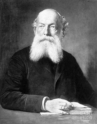 August Kekul�, German Organic Chemist Art Print
