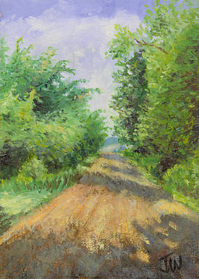 Art Print featuring the painting August Lane by Joe Winkler