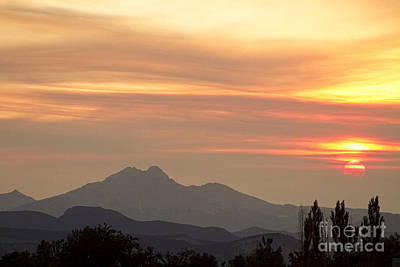 August Sunset Art Print by James BO  Insogna