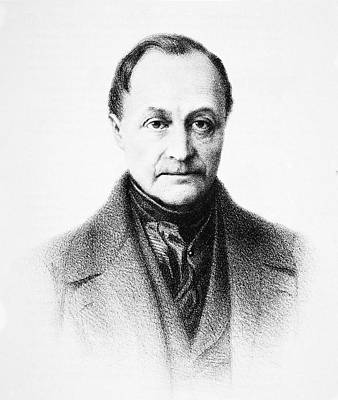 Auguste Comte, French Philosopher Art Print by