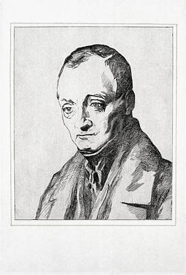 Auguste Comte, French Philosopher Art Print by Humanities & Social Sciences Librarynew York Public Library