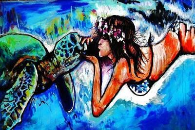 Aumakua Art Print by Kimberly Dawn Clayton