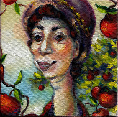 Painting - Aunt Berta by Mary J Russell