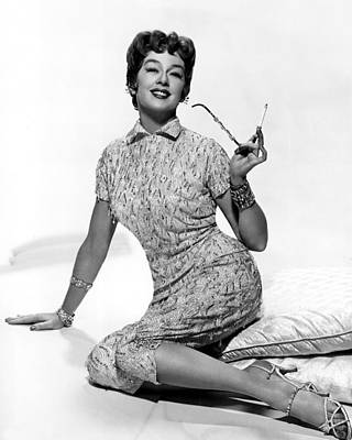 1958 Movies Photograph - Auntie Mame, Rosalind Russell, 1958 by Everett