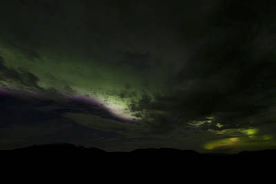 Abstract Airplane Art Rights Managed Images - Aurora Borealis 1 Royalty-Free Image by Sven Brogren