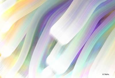 George Pedro Art Painting - Aurora Borealis by George Pedro