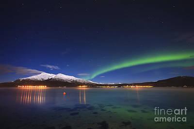 Caravaggio - Aurora Over Tjeldsundet by Arild Heitmann