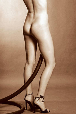 Tall Nude Woman Photograph - Aussi 3 by Stuart Brown