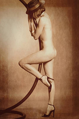 Tall Nude Woman Photograph - Aussi by Stuart Brown