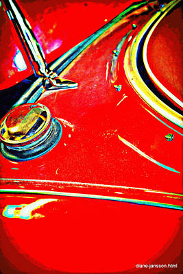 Photograph - austin healy 3000 mk II by Diane montana Jansson