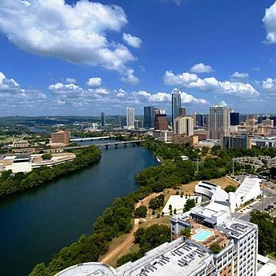 Skylines Photograph - Austin by James Granberry