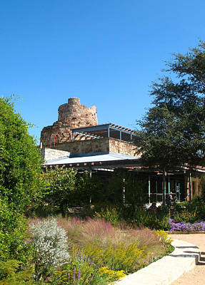 Photograph - Austin Texas Wildflower Center 2 by Connie Fox