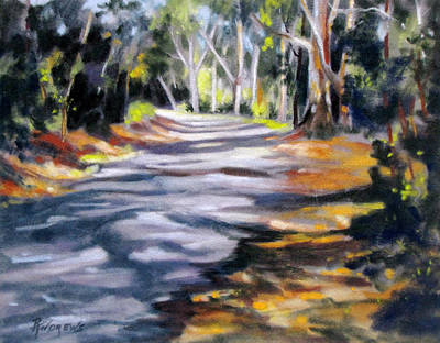 Art Print featuring the painting Australia Revisited 3 by Rae Andrews