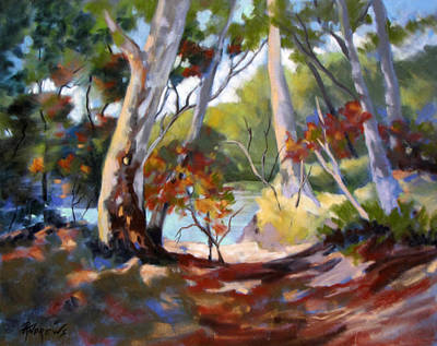 Art Print featuring the painting Australia Revisited by Rae Andrews
