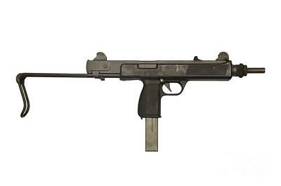 Austrian 9mm Steyr Mpi 81 Submachine Print by Andrew Chittock