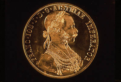 Holmberg Photograph - Austrian Gold 4-ducat by Norm Holmberg