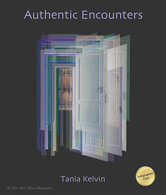 Digital Art - Authentic Encounters Book Cover by Tania Kelvin