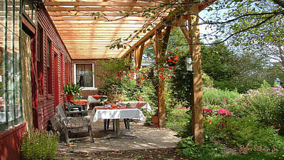 Autmn Garden Art Print