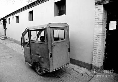 Photograph - Auto Rickshaw by Dean Harte
