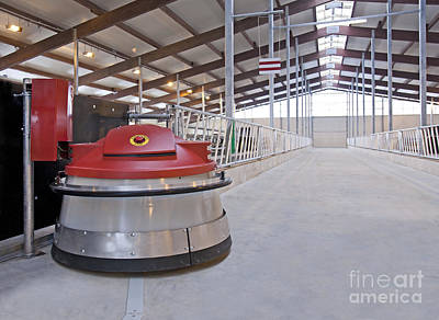 Automated Feed Pusher Print by Jaak Nilson