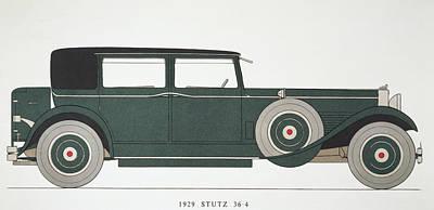 Photograph - Automobile: Stutz, 1929 by Granger