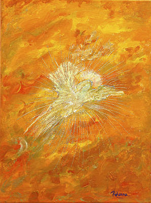 Painting - Autum Angel by Judy M Watts-Rohanna