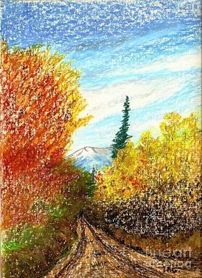 Autumn Ablaze Art Print